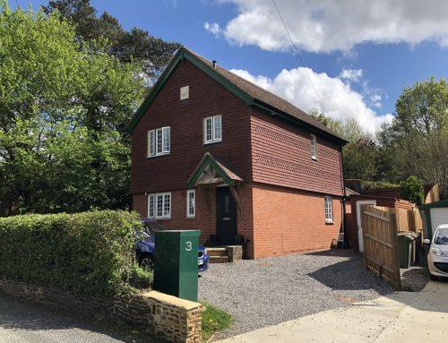 Cottage development, Albury Village, near Guilford : for Northumberland Estates