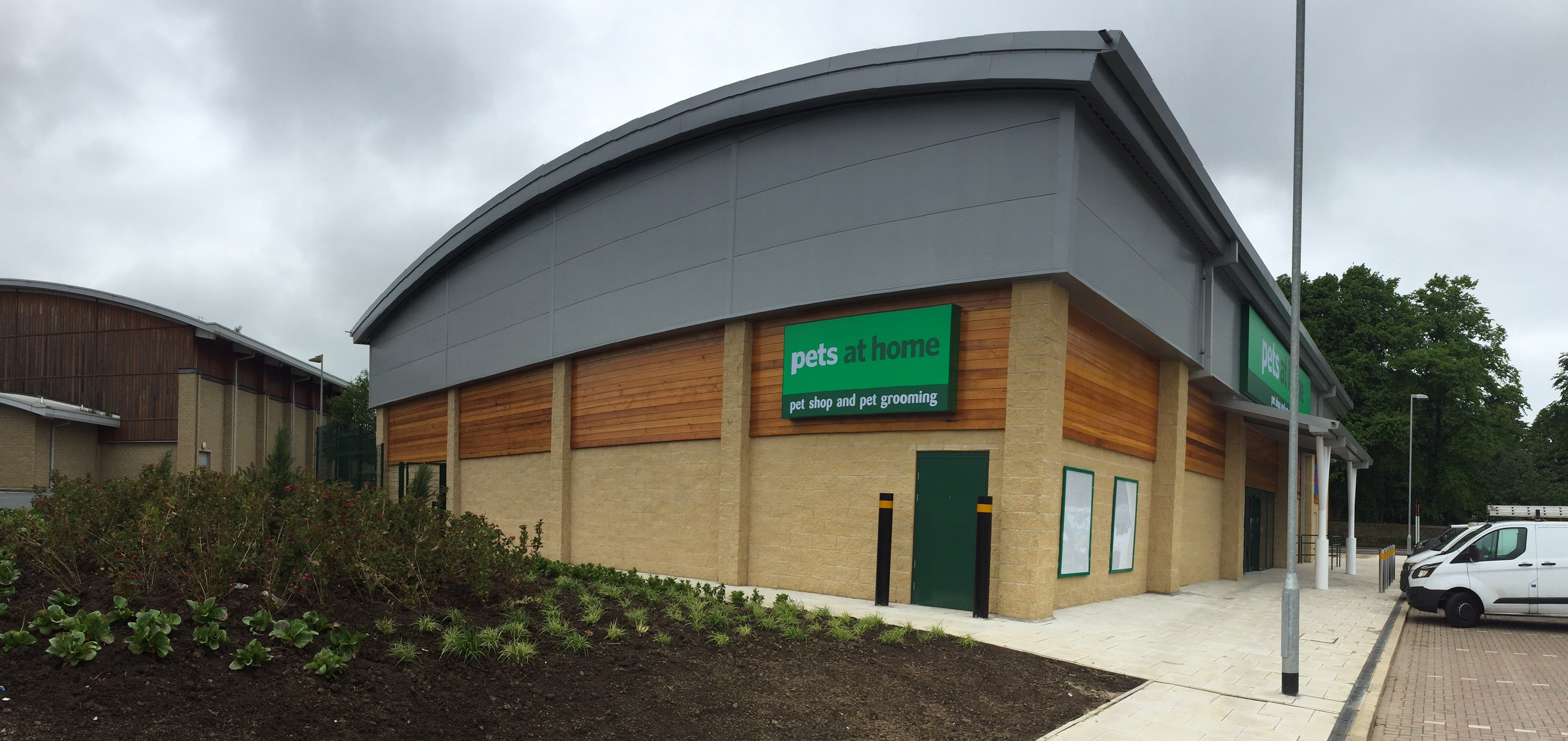 home retail new build pets at home store alnwick