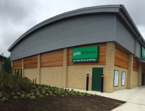 New build: Pets at Home store, Alnwick